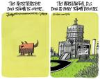 Cartoonist Lee Judge  Lee Judge's Editorial Cartoons 2012-02-16 dog