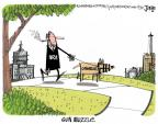 Cartoonist Lee Judge  Lee Judge's Editorial Cartoons 2013-04-19 dog
