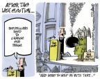 Cartoonist Lee Judge  Lee Judge's Editorial Cartoons 2013-10-13 government shutdown