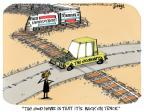 Cartoonist Lee Judge  Lee Judge's Editorial Cartoons 2014-02-12 good news