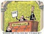 Cartoonist Lee Judge  Lee Judge's Editorial Cartoons 2014-04-24 Supreme Court