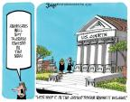 Cartoonist Lee Judge  Lee Judge's Editorial Cartoons 2014-04-29 Supreme Court