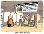 Cartoonist Lee Judge  Lee Judge's Editorial Cartoons 2014-11-19 cheese