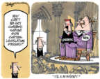 Cartoonist Lee Judge  Lee Judge's Editorial Cartoons 2016-06-22 Bill of Rights