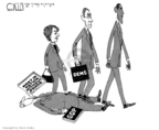 Cartoonist Steve Kelley  Steve Kelley's Editorial Cartoons 2009-01-29 division
