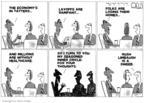 Cartoonist Steve Kelley  Steve Kelley's Editorial Cartoons 2009-03-05 circle