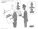 Cartoonist Steve Kelley  Steve Kelley's Editorial Cartoons 2009-04-01 basketball