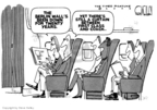 Cartoonist Steve Kelley  Steve Kelley's Editorial Cartoons 2009-11-11 air travel