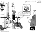 Cartoonist Steve Kelley  Steve Kelley's Editorial Cartoons 2009-11-25 tax