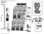 Cartoonist Steve Kelley  Steve Kelley's Editorial Cartoons 2009-12-03 wife