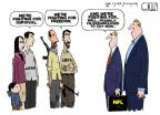 Cartoonist Steve Kelley  Steve Kelley's Editorial Cartoons 2011-03-17 football strike