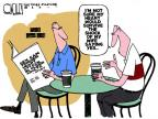 Cartoonist Steve Kelley  Steve Kelley's Editorial Cartoons 2011-03-27 wife