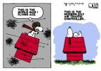 Cartoonist Steve Kelley  Steve Kelley's Editorial Cartoons 2011-04-19 air travel