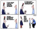 Cartoonist Steve Kelley  Steve Kelley's Editorial Cartoons 2011-04-21 air travel
