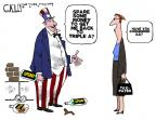 Cartoonist Steve Kelley  Steve Kelley's Editorial Cartoons 2011-08-14 credit rating