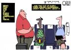 Cartoonist Steve Kelley  Steve Kelley's Editorial Cartoons 2012-05-08 air travel
