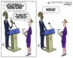 Cartoonist Steve Kelley  Steve Kelley's Editorial Cartoons 2012-07-08 Richard Nixon