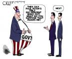 Cartoonist Steve Kelley  Steve Kelley's Editorial Cartoons 2012-08-15 Paul Ryan