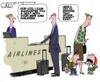 Cartoonist Steve Kelley  Steve Kelley's Editorial Cartoons 2012-09-21 air travel
