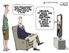 Cartoonist Steve Kelley  Steve Kelley's Editorial Cartoons 2012-09-26 football strike