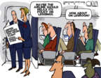Cartoonist Steve Kelley  Steve Kelley's Editorial Cartoons 2017-03-28 air travel