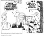 Cartoonist Steve Kelley  Steve Kelley's Editorial Cartoons 2005-01-17 car accident
