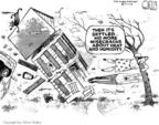 Cartoonist Steve Kelley  Steve Kelley's Editorial Cartoons 2004-09-16 wife