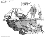 Cartoonist Steve Kelley  Steve Kelley's Editorial Cartoons 2006-01-26 labor