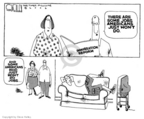 Cartoonist Steve Kelley  Steve Kelley's Editorial Cartoons 2006-03-29 labor