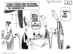 Cartoonist Steve Kelley  Steve Kelley's Editorial Cartoons 2006-03-31 immigration