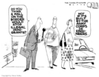 Cartoonist Steve Kelley  Steve Kelley's Editorial Cartoons 2006-04-04 border fence