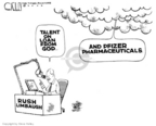 Cartoonist Steve Kelley  Steve Kelley's Editorial Cartoons 2006-06-30 Rush Limbaugh
