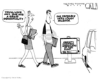 Cartoonist Steve Kelley  Steve Kelley's Editorial Cartoons 2006-10-27 great