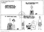 Cartoonist Steve Kelley  Steve Kelley's Editorial Cartoons 2007-01-17 wife