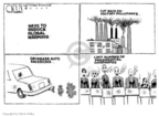 Cartoonist Steve Kelley  Steve Kelley's Editorial Cartoons 2007-01-31 hot