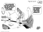 Cartoonist Steve Kelley  Steve Kelley's Editorial Cartoons 2007-02-09 wife