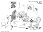 Cartoonist Steve Kelley  Steve Kelley's Editorial Cartoons 2007-03-23 dog