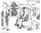 Cartoonist Steve Kelley  Steve Kelley's Editorial Cartoons 2007-06-01 air travel