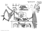 Cartoonist Steve Kelley  Steve Kelley's Editorial Cartoons 2007-06-12 George W. Bush congress