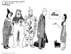 Cartoonist Steve Kelley  Steve Kelley's Editorial Cartoons 2007-06-28 Wizard of Oz