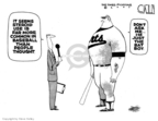 Cartoonist Steve Kelley  Steve Kelley's Editorial Cartoons 2007-12-14 muscle