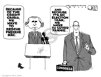 Cartoonist Steve Kelley  Steve Kelley's Editorial Cartoons 2008-07-15 George W. Bush economy