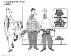 Cartoonist Steve Kelley  Steve Kelley's Editorial Cartoons 2008-08-22 amount