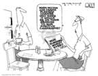 Cartoonist Steve Kelley  Steve Kelley's Editorial Cartoons 2008-10-08 2008 debate