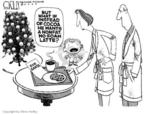Cartoonist Steve Kelley  Steve Kelley's Editorial Cartoons 2004-12-22 hot