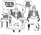 Cartoonist Steve Kelley  Steve Kelley's Editorial Cartoons 1999-01-01 Viagra