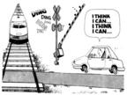 Cartoonist Steve Kelley  Steve Kelley's Editorial Cartoons 1999-01-01 car accident