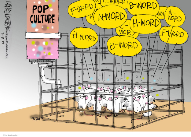 bad influence cartoon