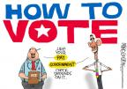 Cartoonist Mike Lester  Mike Lester's Editorial Cartoons 2012-10-26 2012 election