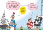 Cartoonist Mike Lester  Mike Lester's Editorial Cartoons 2014-07-03 dog